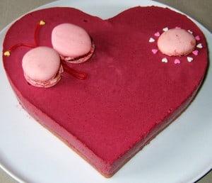 coeur tout rose