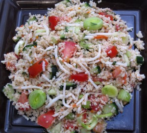 salade couscous surimi