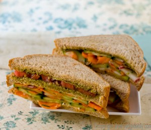 vegetable-sandwich