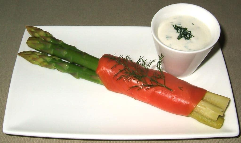 Asperges vertes norv giennes ma cuisine sant - Cuisiner les asperges vertes ...