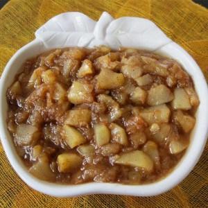 Compotée pomme-poire aux épices