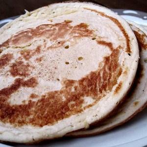 Pancakes vanillés