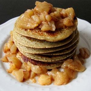 Pancakes poire-amande
