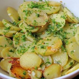 Pommes de terre sarladaises