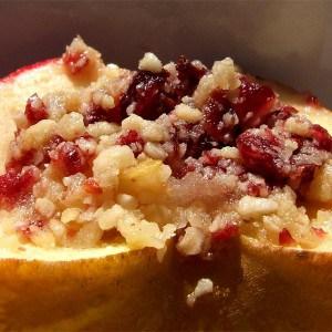 Pommes cuites aux saveurs du Québec