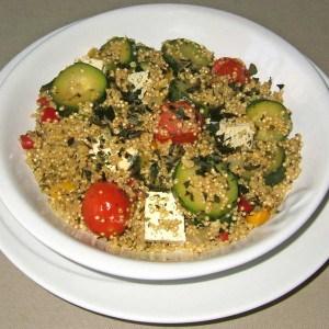 Quinoa aux légumes du sud