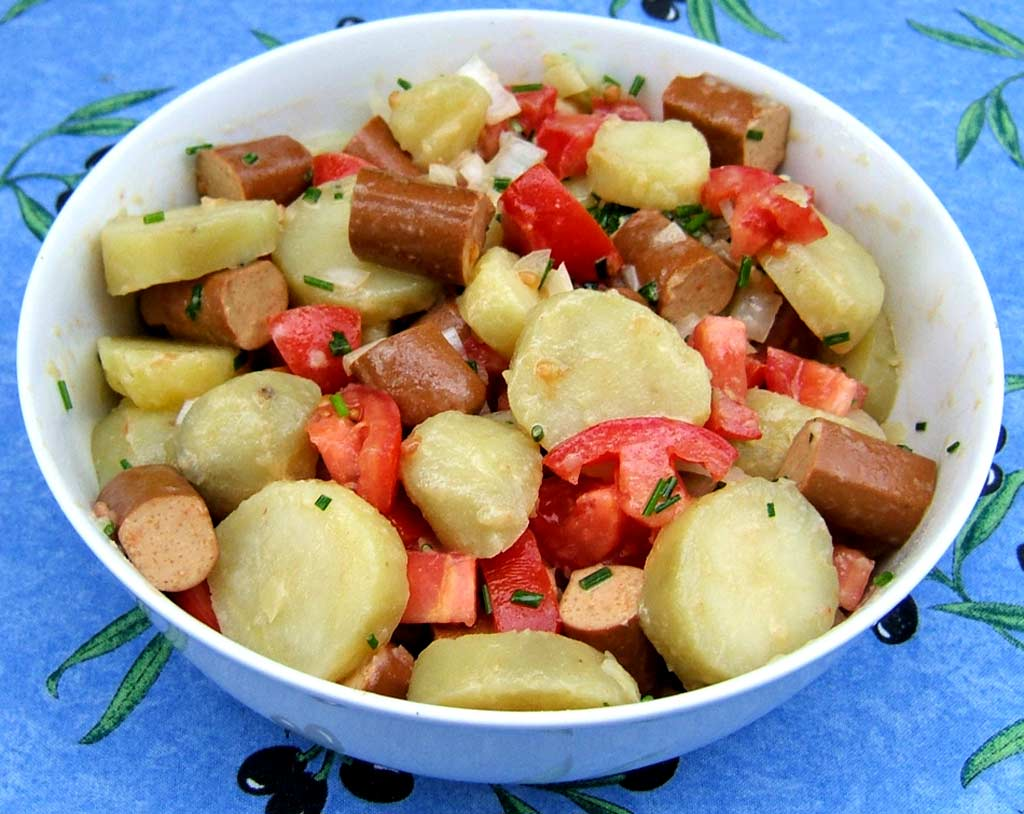 Salade alsacienne v g tarienne ma cuisine sant - Ma cuisine vegetarienne ...