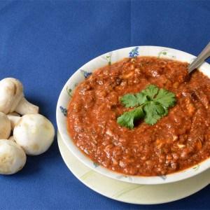 Sauce aux champignons et à la tomate