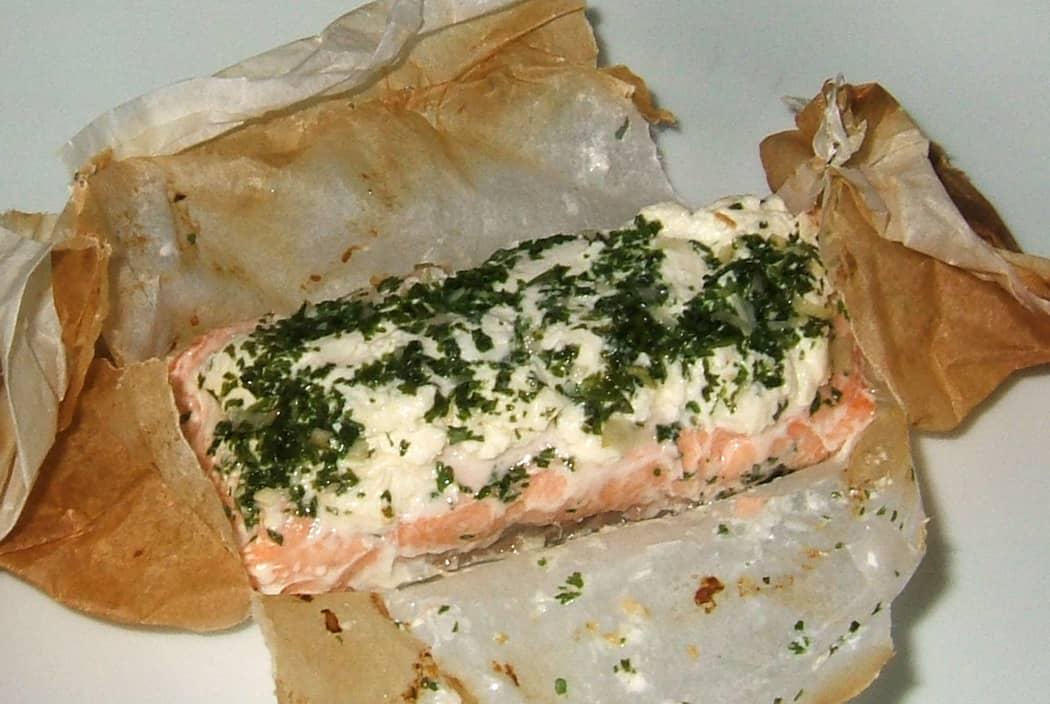 Papillotes de saumon aux herbes ma cuisine sant - Saumon en papillote ...