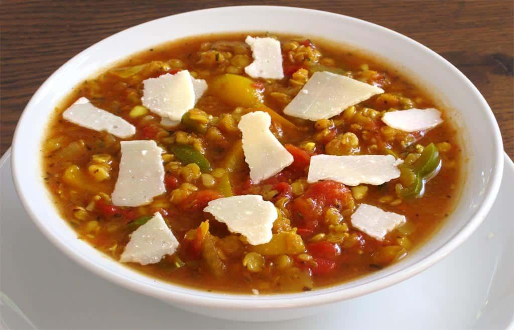 Soupe paisse de lentilles corail aux poivrons ma - Peut on congeler de la soupe ...