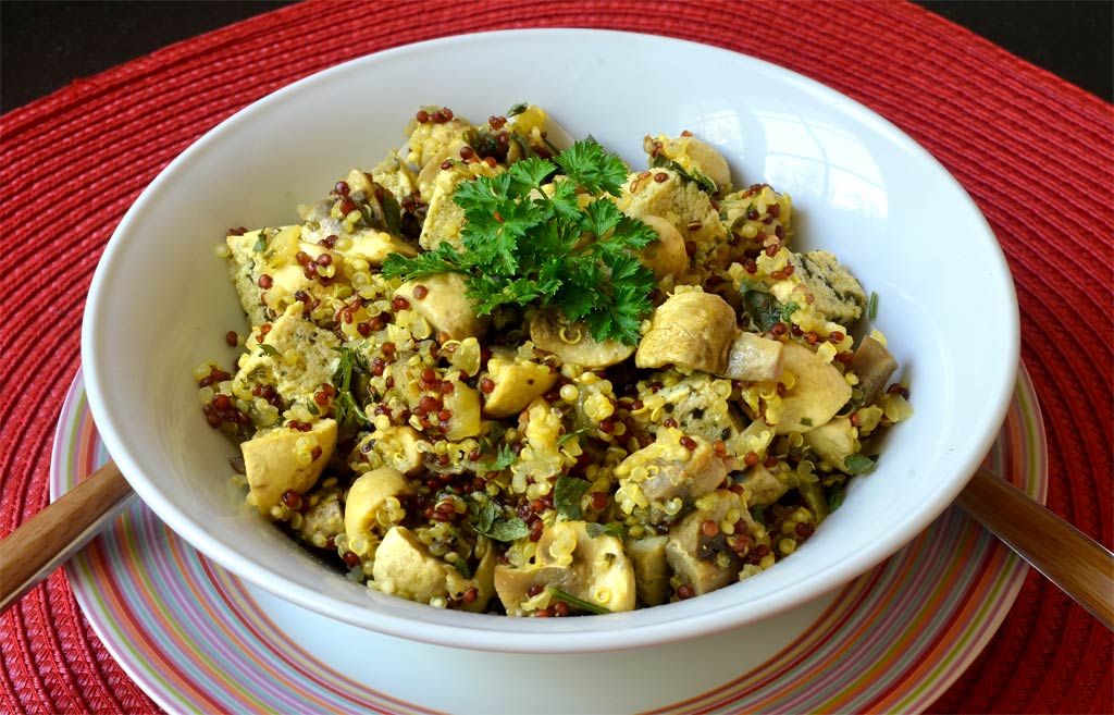 Saut de champignons au quinoa ma cuisine sant - Plat cuisine a congeler ...