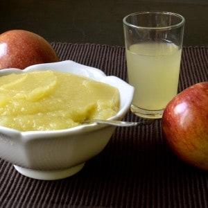 Compote de pomme de base