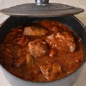Goulash de porc