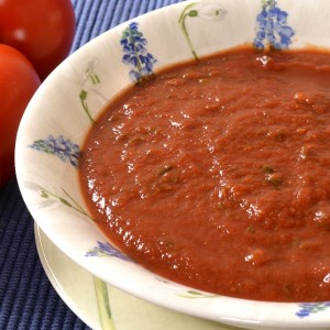 Coulis de tomate express