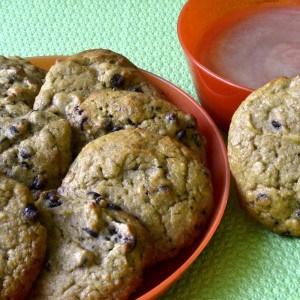 Biscuits protéinés aux pépites de chocolat