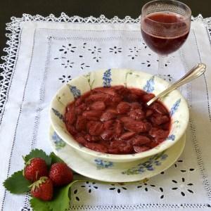 Compotée de fraises