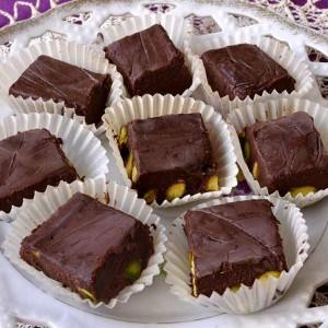 Bouchées ou truffes aux pistaches