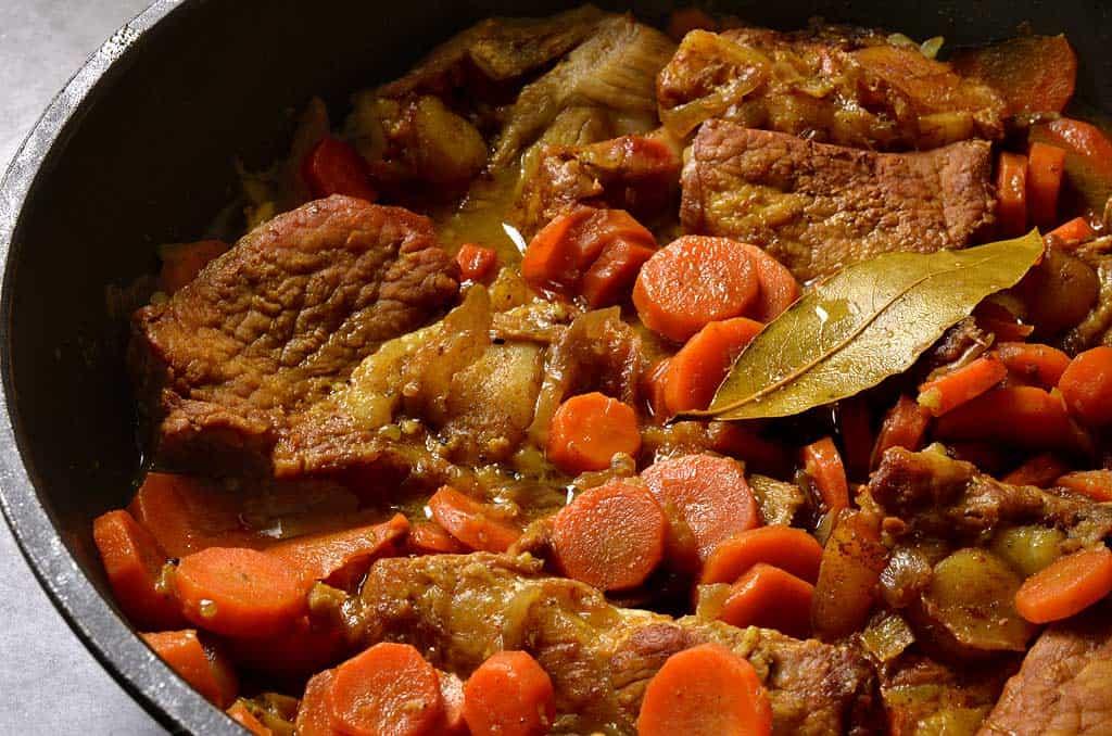 Tendron de veau aux carottes au miel et aux pices ma - Cuisiner tendron de veau ...