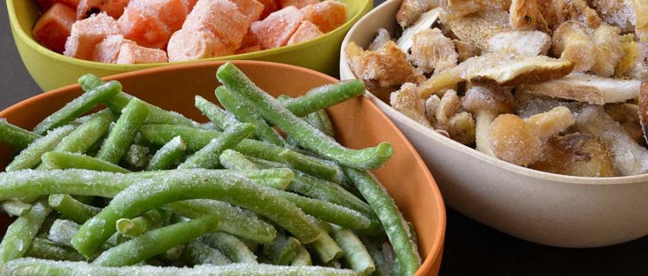Intérêt des fruits et légumes surgelés