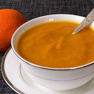 Compote de potiron à l'orange