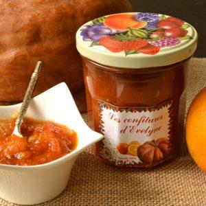 Marmelade de potiron à l'orange