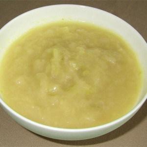 Compote pomme-banane à la noix de coco