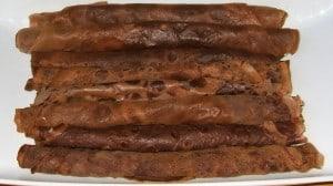 crèpes au chocolat