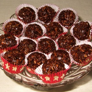 Boules croquantes au chocolat