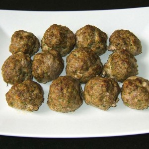 Boulettes de bœuf au chou kale