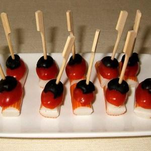 Brochettes de surimi