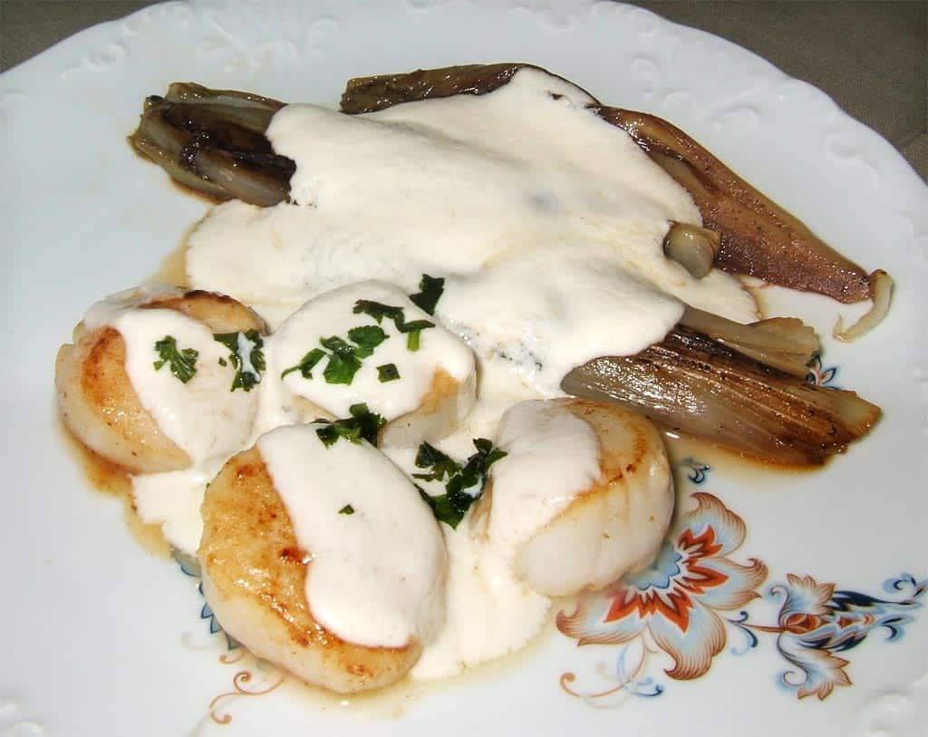 Saint jacques et endives brais es normandes ma cuisine sant - Cuisine et sante saint gaudens ...
