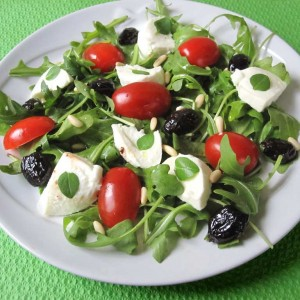 Salade italienne toute simple