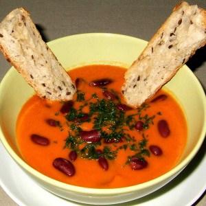 Soupe de tomate mexicaine