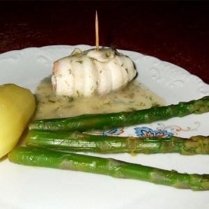 Roulades de sole au saumon