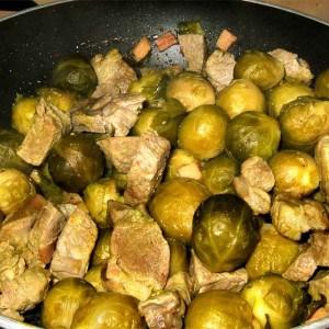 Sauté de porc aux légumes d'automne