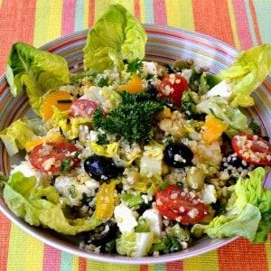 Salade de boulgour aux légumes
