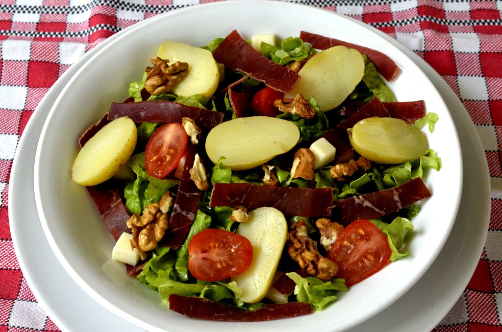 Salade grenobloise ma cuisine sant - Cuisine et sante saint gaudens ...
