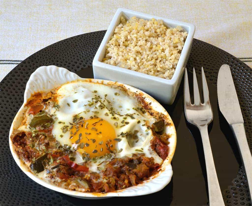 Oeufs la ratatouille ma cuisine sant - Cuisine et sante saint gaudens ...