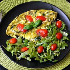 Omelette méditerranéenne