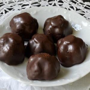 Bouchées au chocolat genre Bounty