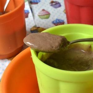 Crèmes au chocolat sans lactose