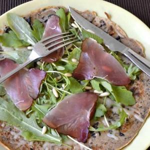 Crêpe façon pizza