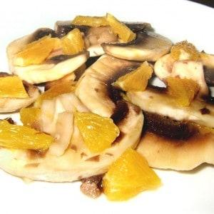 Salade de champignons à l'orange