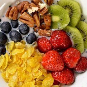 Breakfast ou smoothie bowl vitaminé