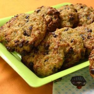 Cookies moelleux au quinoa et aux pépites de chocolat