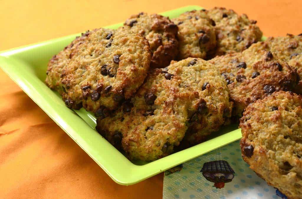 Cookies Moelleux Au Quinoa Et Aux Pepites De Chocolat Ma Cuisine Sante