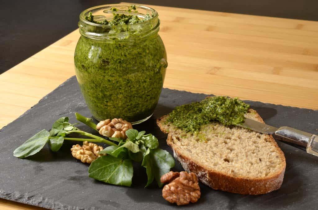 Pesto de cresson essonnien - Ma Cuisine Santé