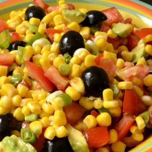 Salade mexicaine toute simple