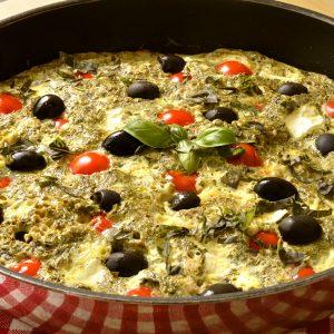 Omelette grecque