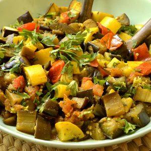 Poêlée de légumes d'été aux épices